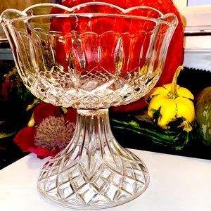 Antique Waterford Leaded Crystal Candy Dish